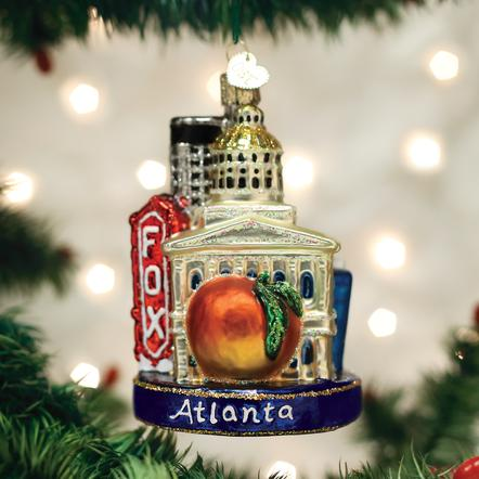 Old World Christmas - Atlanta Ornament Ornament
