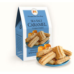 Sea Salt Caramel Cookie Straws 5.5 oz. Carton