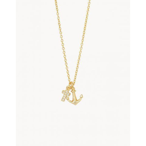 Spartina SEA LA VIE IT IS WELL NECKLACE gold