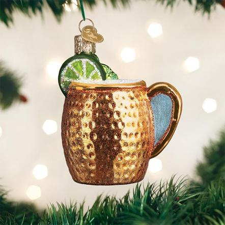 Old World Christmas - Moscow Mule Mug Ornament