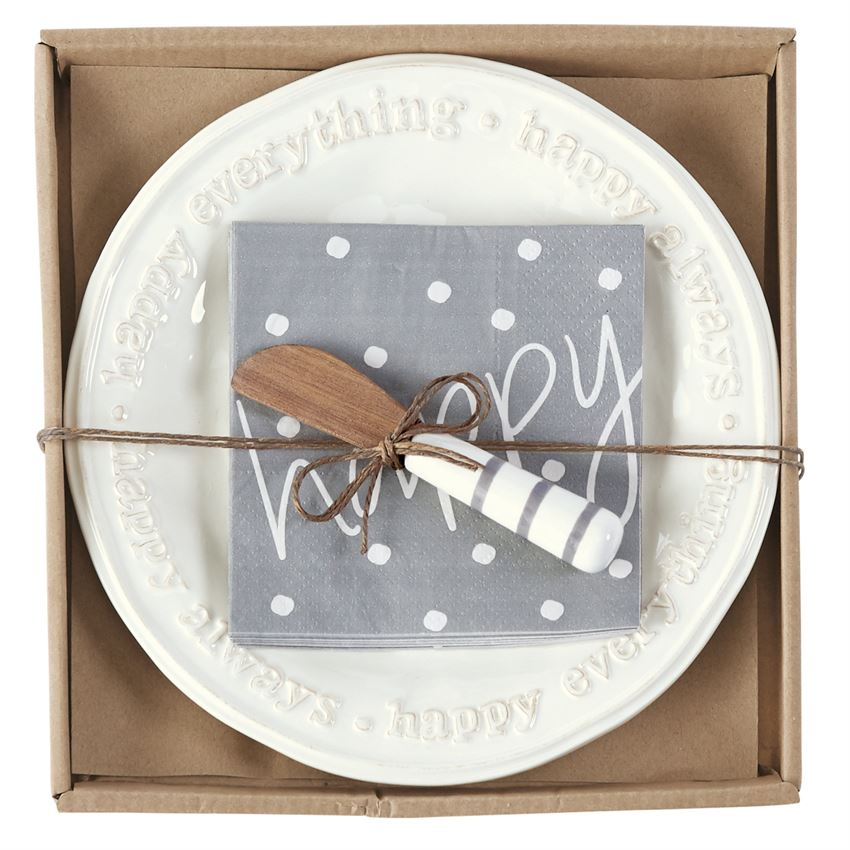 HAPPY CHEESE SET by Mud Pie