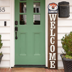 Aubie Topper for a welcome Front Door