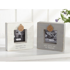 HEAVEN DOG  and CAT TAG FRAMES