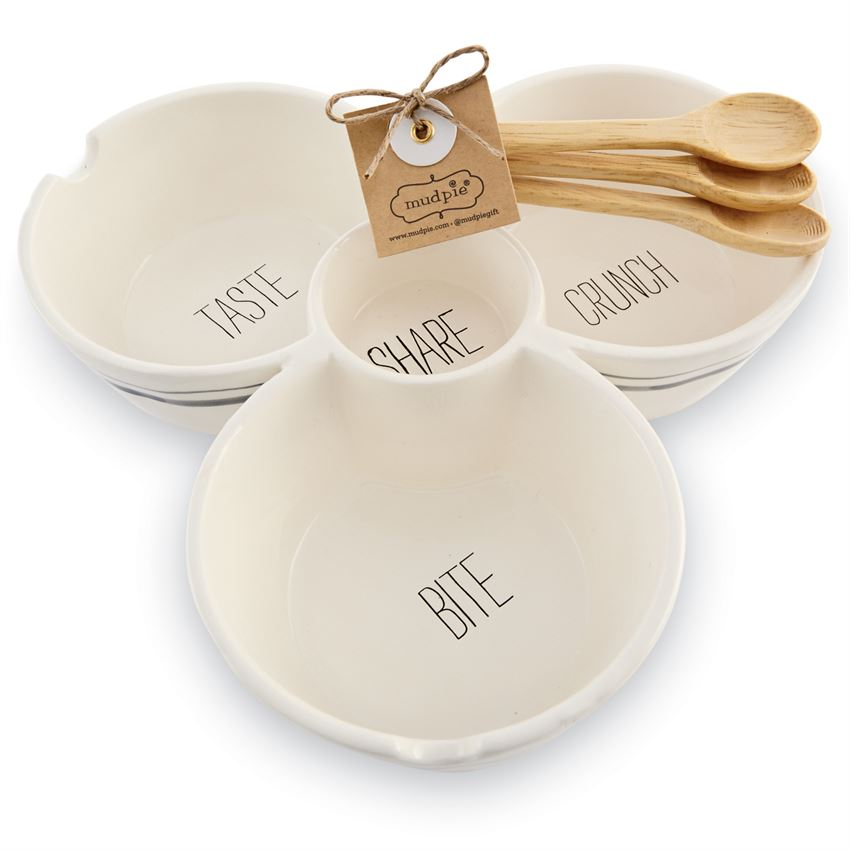MUD PIE - BISTRO MULTI-DIP SET