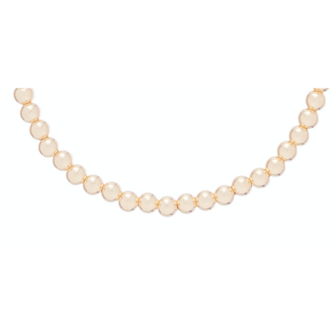 "enewton -  17"" Choker Classic Gold 4mm Bead"