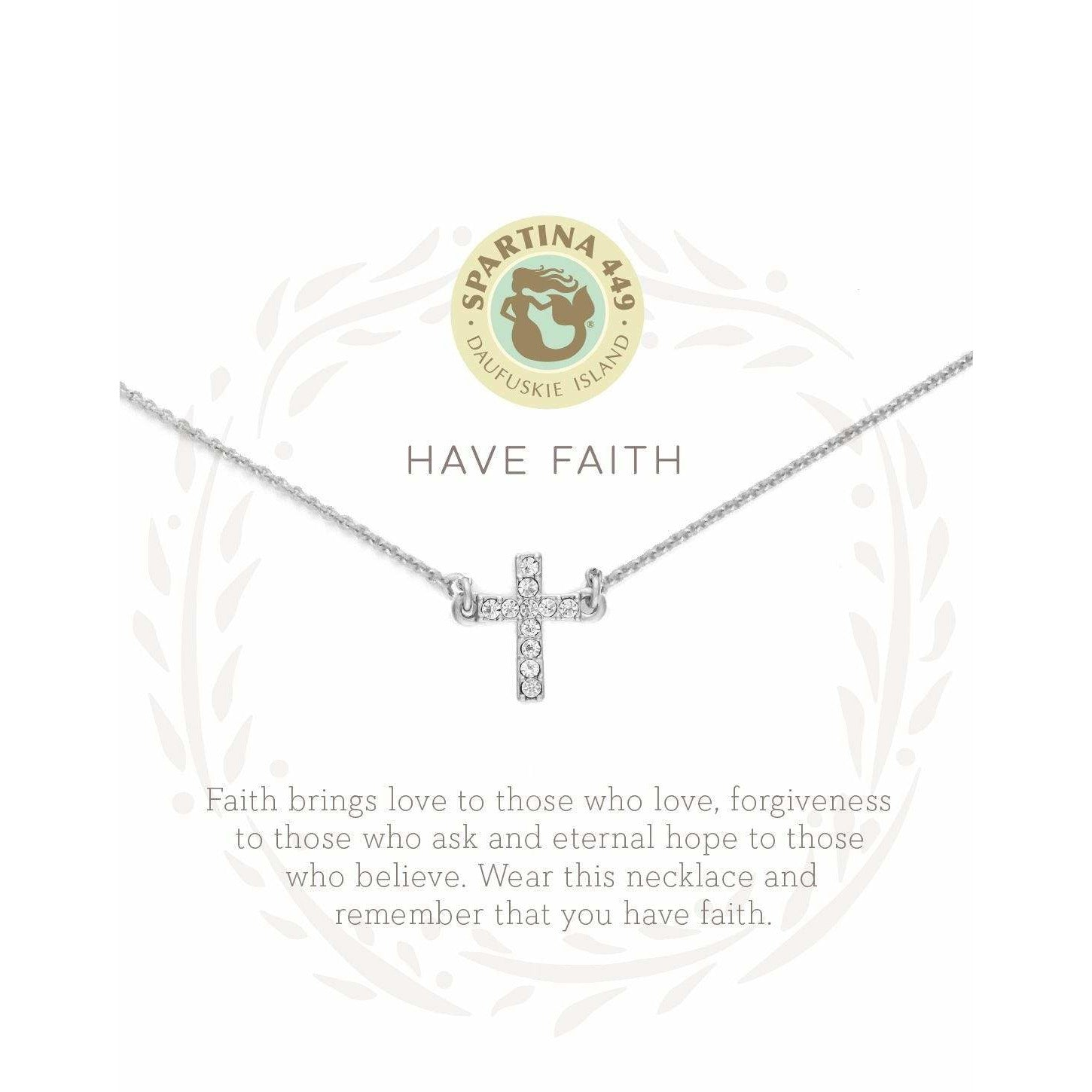 Spartina 449 SEA LA VIE HAVE FAITH NECKLACE
