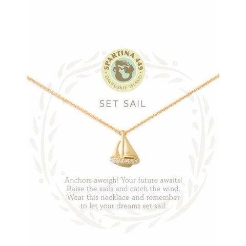 Spartina 449 SEA LA VIE SET SAIL NECKLACE