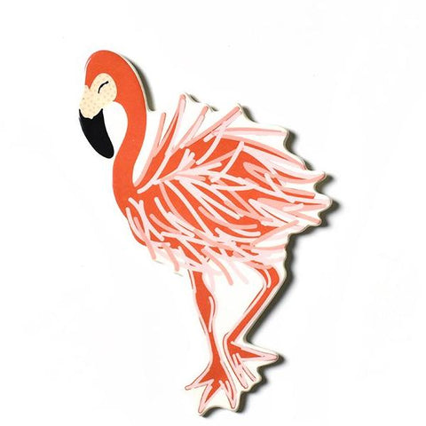 Happy Everything Mini Attachment - Flamingo