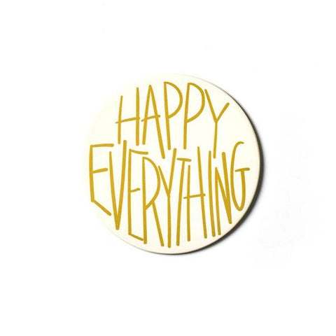 Happy Everything Mini Attachment - Happy Everything Gold