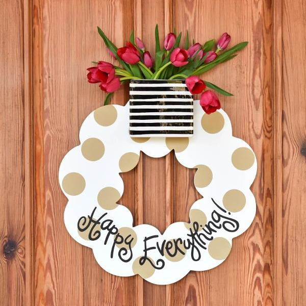 Happy Everything Big Wreaths - Findlay Rowe