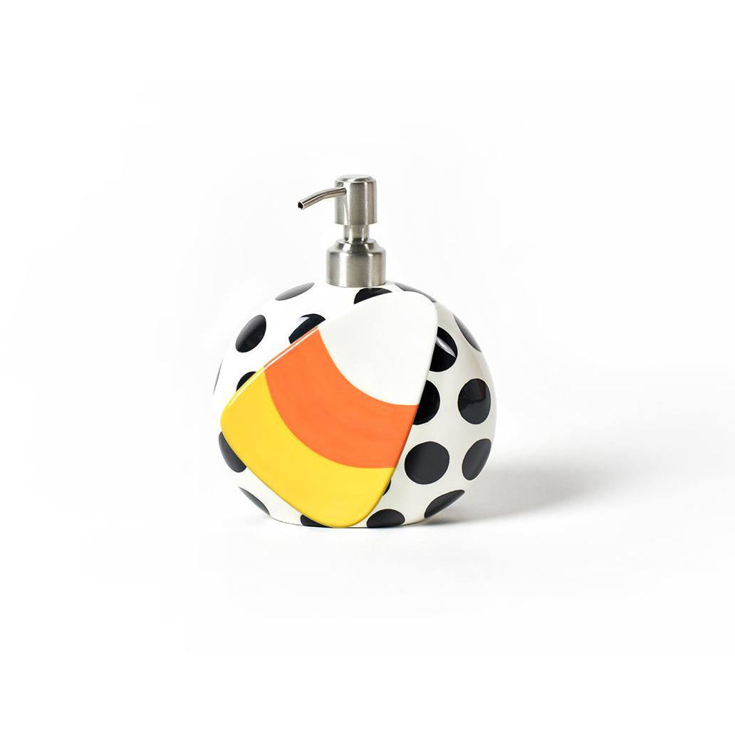 Happy Everything Mini Attachment - Candy Corn on a soap pump