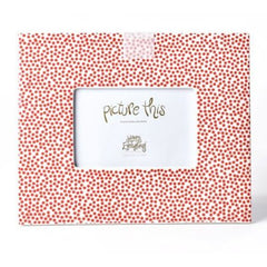 Red Small Dot Mini Frame