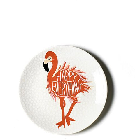 Coton Colors -  Flamingo Salad Plate