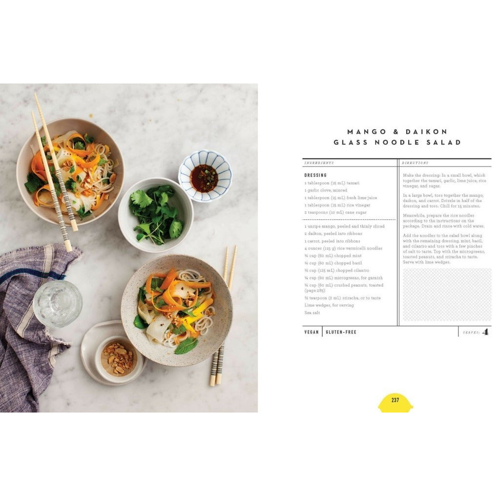 The Love and Lemons Cookbook: Recipe for mango & Daikon glass noodle salad