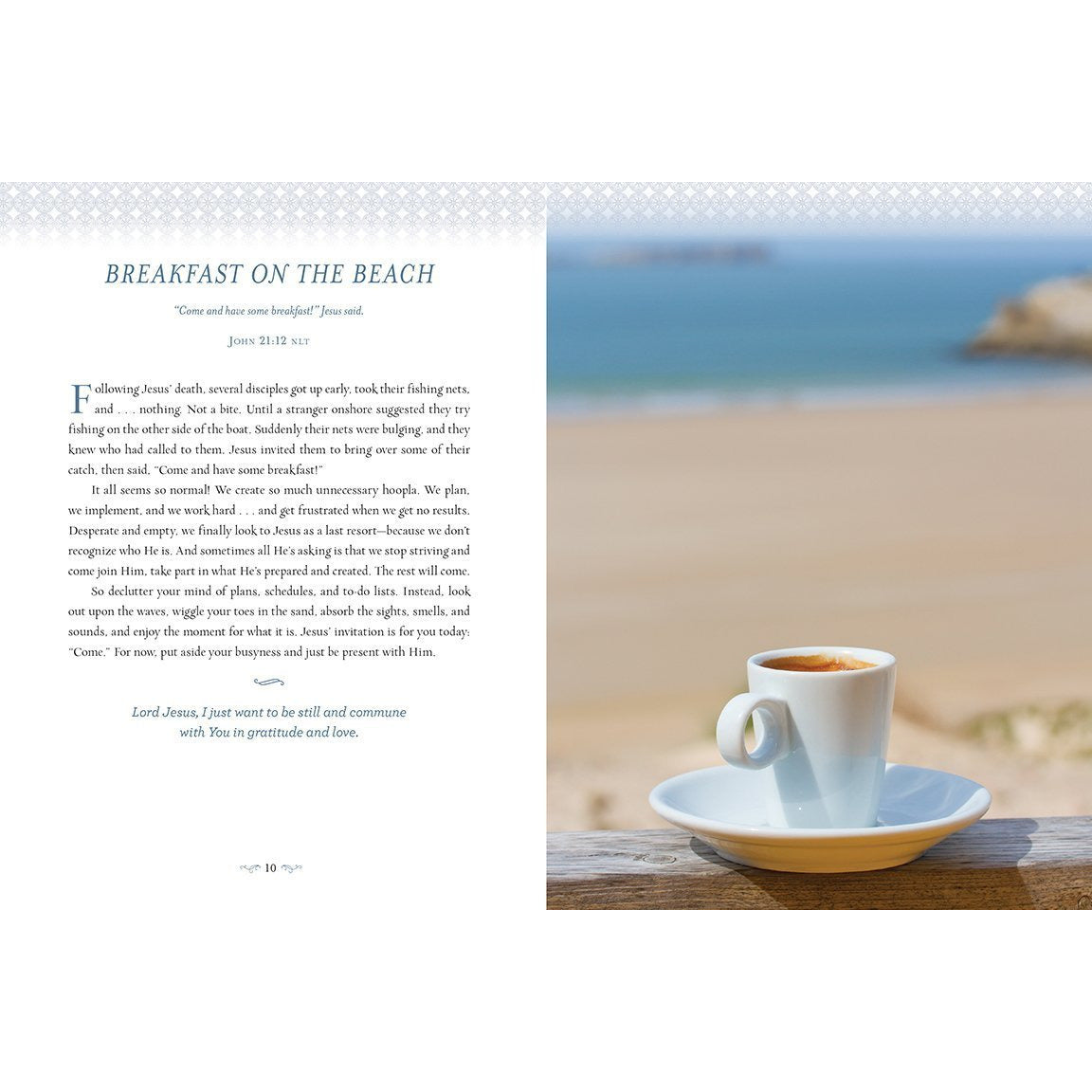 Devotions from the Beach: 100 Devotions Breakfast on the Beach