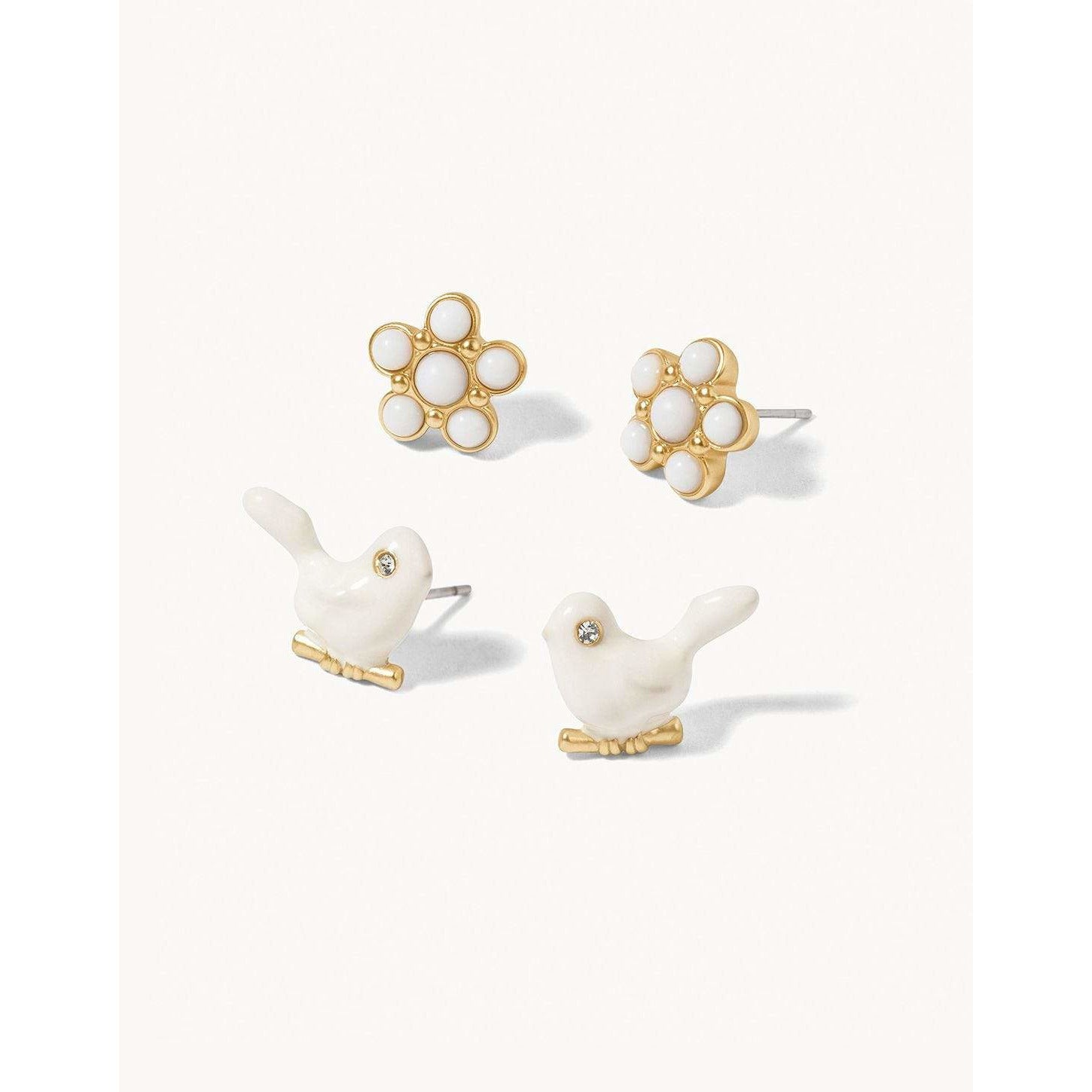 Spartina 449 - SONGBIRD STUD EARRINGS SET, Front View