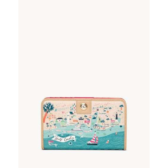 Spartina 449 - Gulf Coast Snap Wallet, Front View