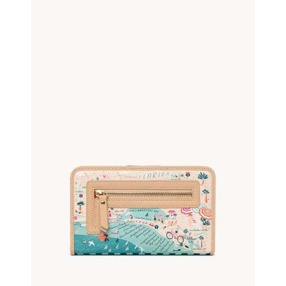 Spartina 449 - Gulf Coast Snap Wallet, Back View