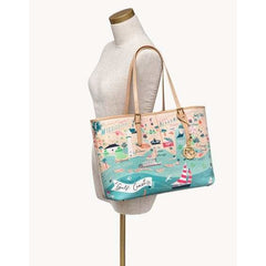 SPARTINA 449 - GULF COAST TOTE ON MANNEQUIN FOR SIZE COMPARISON