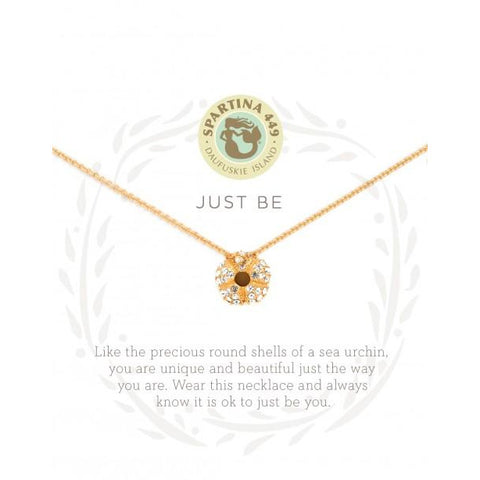 "Spartina SEA LA VIE NECKLACE 18"" JUST BE/SEA URCHIN"