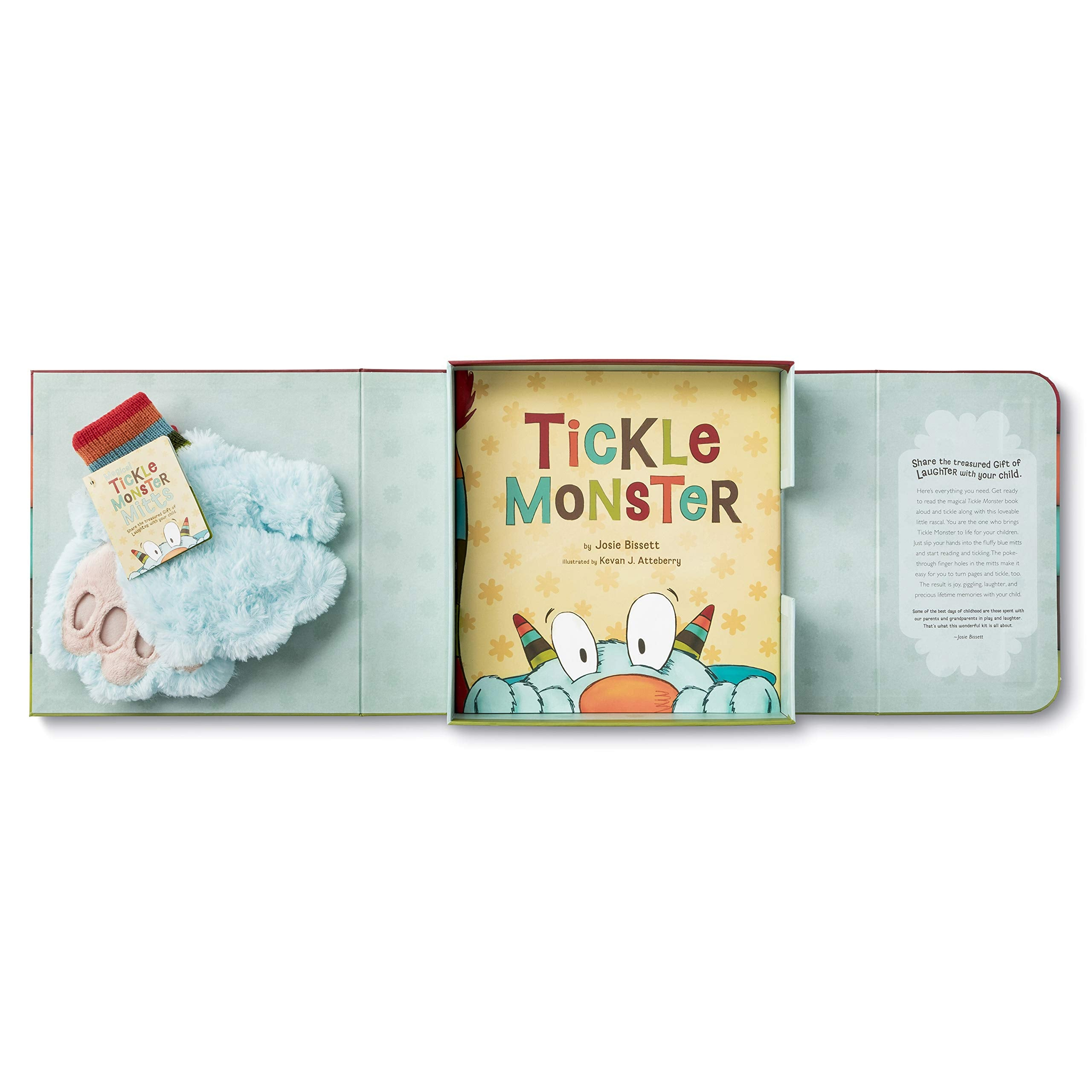 Tickle Monster Laughter Kit - Includes the Tickle Monster Book and Fluffy MittsTickle Monster Laughter Kit - Includes the Tickle Monster Book and Fluffy Mitts