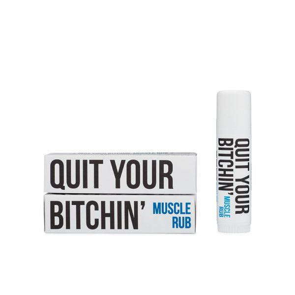 Bitchstix - QUIT YOUR BITCHIN'  Muscle Rub Stix