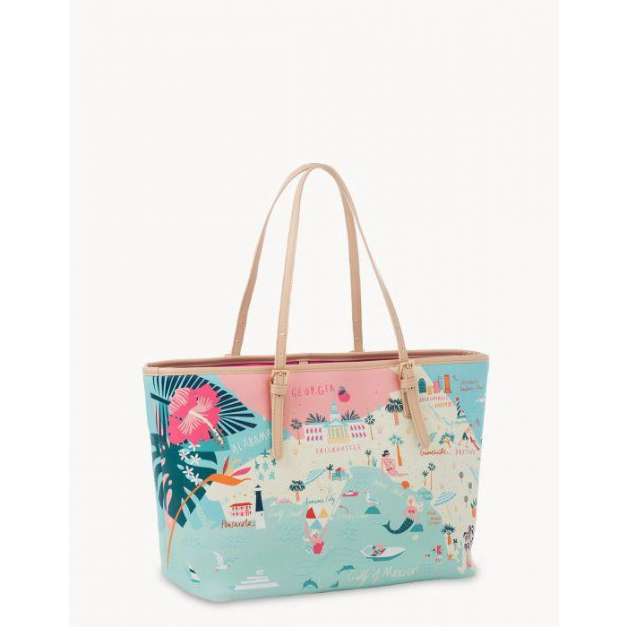 SPARTINA 449 - FLORIDA TOTE back of tote