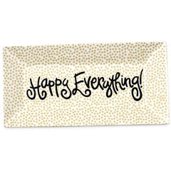 Happy Everything - Cobble Dot Scoop Tray