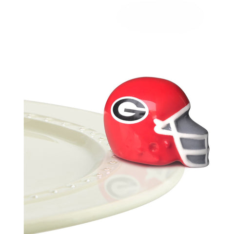 Nora Fleming - University of Georgia Bulldog Helmet