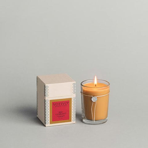 Votivo - 6.8 oz Aromatic Candle Red Currant
