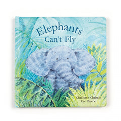 Jellycat - Elephants Can't Fly Book, Front View