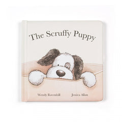 Jellycat - The Scruffy Puppy Book, Front View