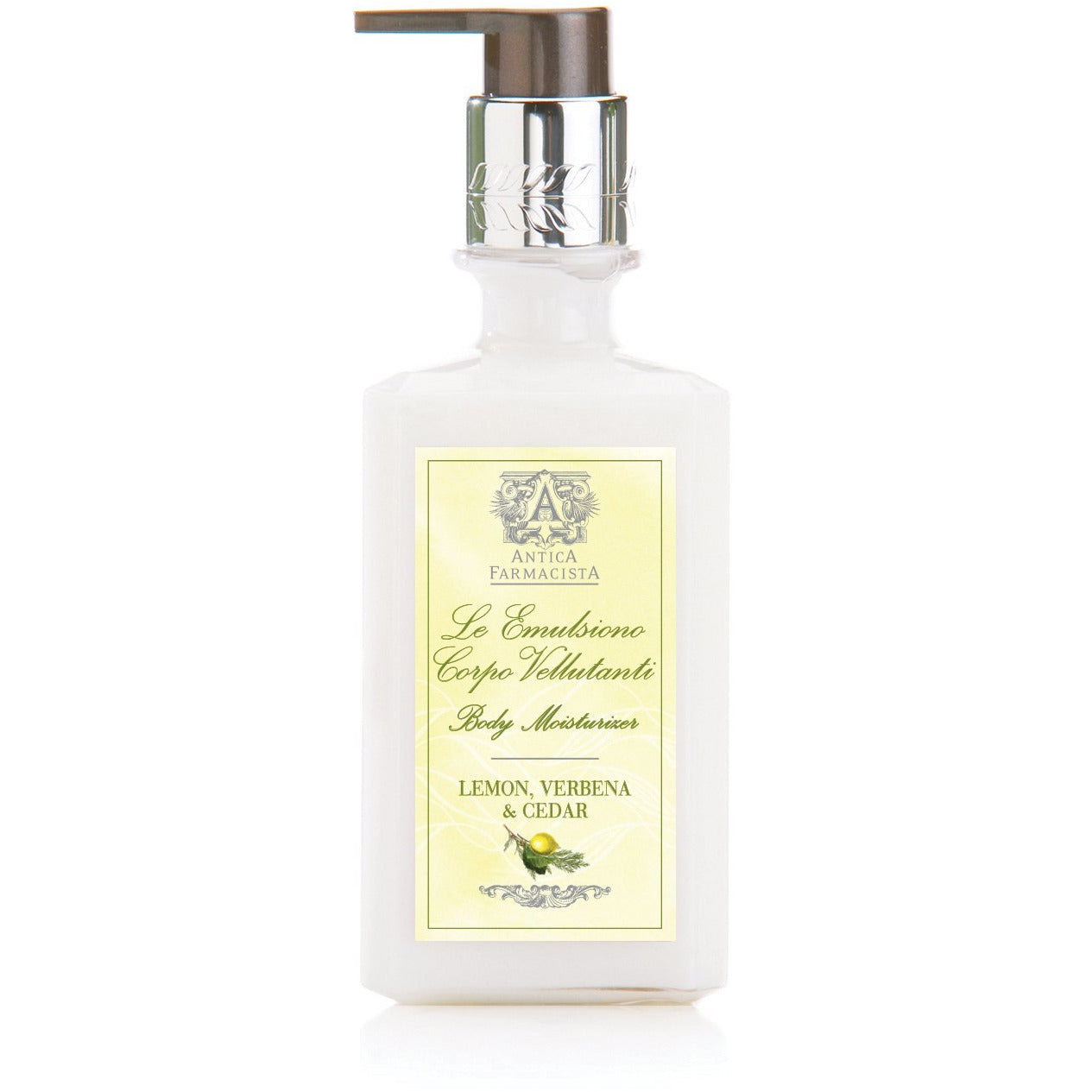 Antica Farmacista - 10OZ BODY MOISTURIZER  Lemon, Verbena & Cedar