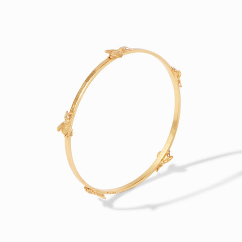 JULIE VOS - Gold Bee Bangle