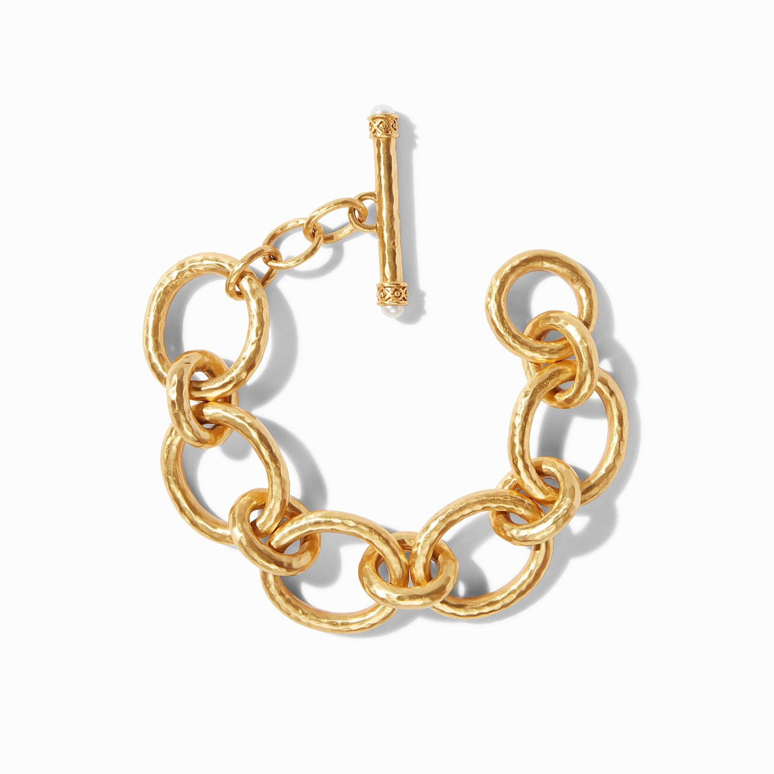 JULIE VOS - Catalina Large Link Bracelet top down view