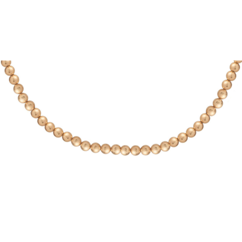 enewton -  Choker Classic Gold 5mm Bead