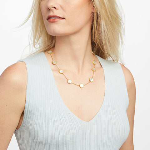 JULIE VOS - Coin Demi Station Necklace