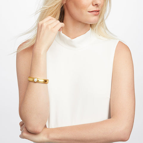 JULIE VOS - Coin Hinge Bangle