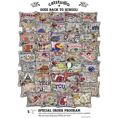 Catstudio Collegiate Pillows