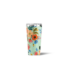 Corkcicle  - Rifle Paper Co. 16 oz. Tumbler | Mint Lively Floral
