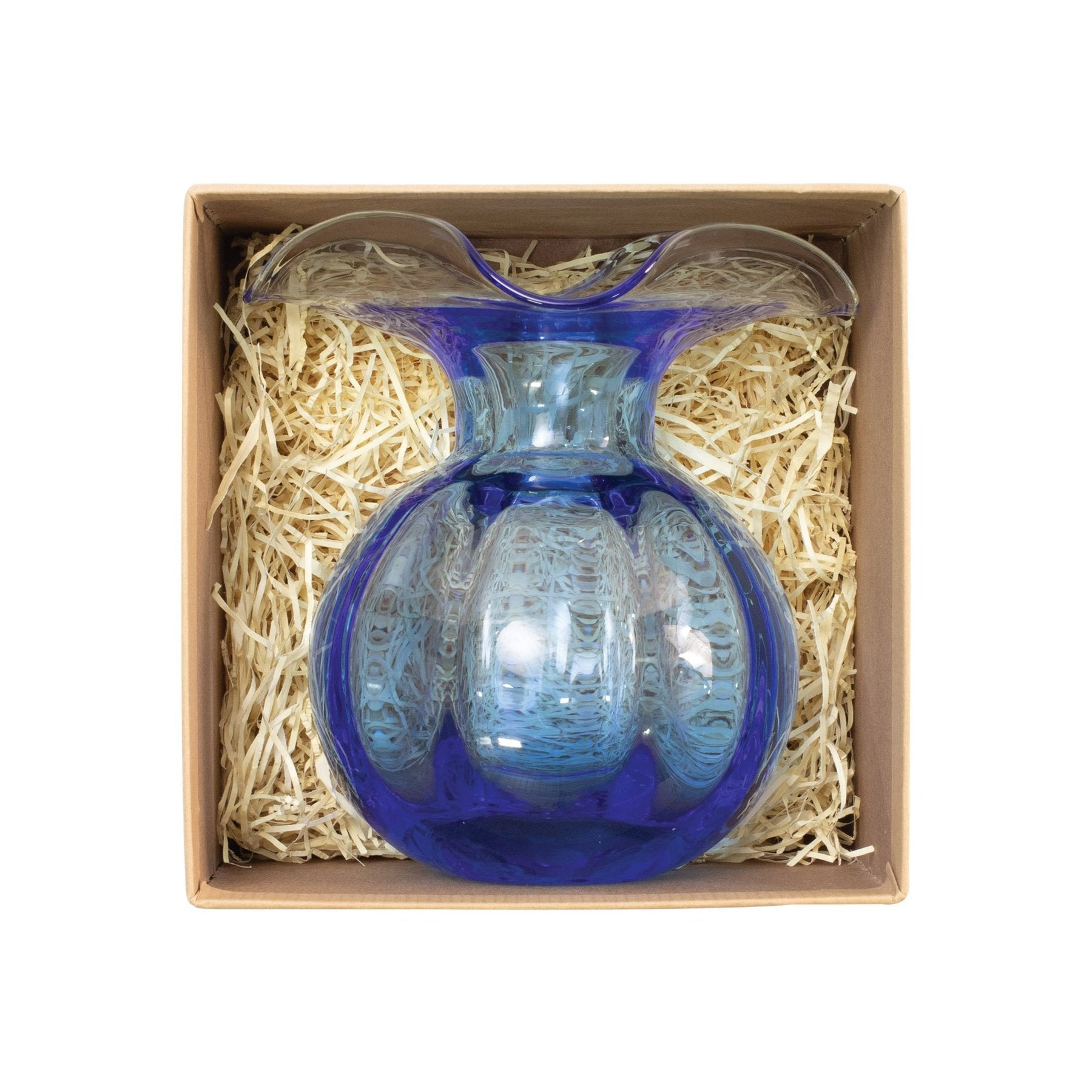 Vietri - HIBISCUS GLASS BUD VASE in box