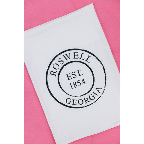 Roswell, Georgia Tea Towel