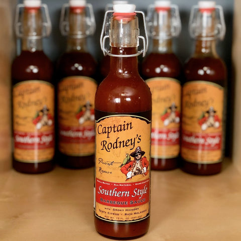 Captain Rodney's Private Reserve - Southern Style BBQ Sauce