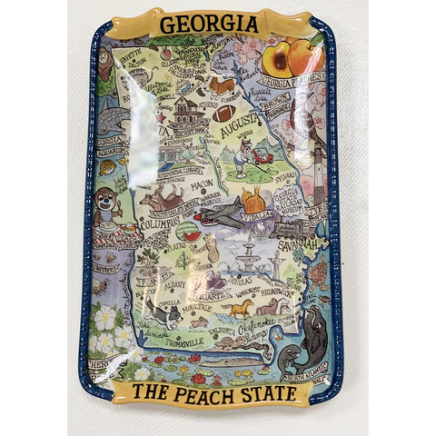 State of Georgia The Peach State Platter