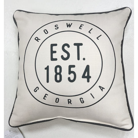 ROSWELL HOMETOWN PILLOW
