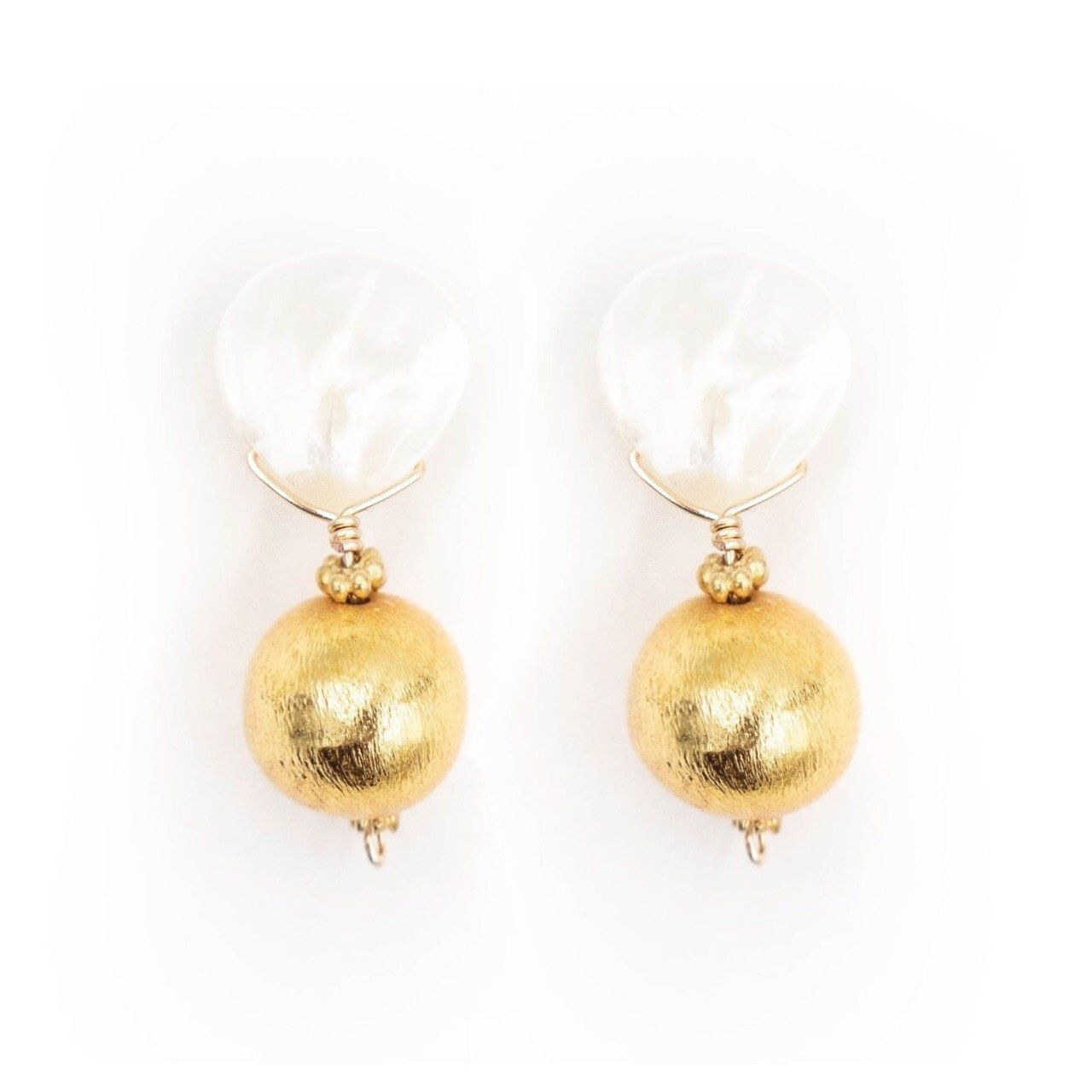 Hazen & Co. - Claire Earrings, Front View