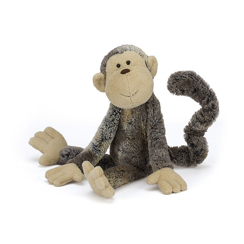 Jellycat Mattie Monkey, Front View