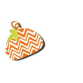 Happy Everything Mini Attachment -  Chevron Pumpkin