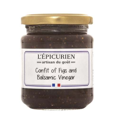 L'Epicurien Fig & Balsamic Vinegar Confit