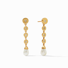 JULIE VOS - Poppy Statement Earring - Cubic Zirconia